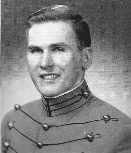 COL Stanley J. Kuick - Cadet photo from HOWITZER