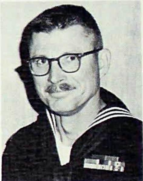 BM1 Andrew Grant on USS Worden DLG-18 1969