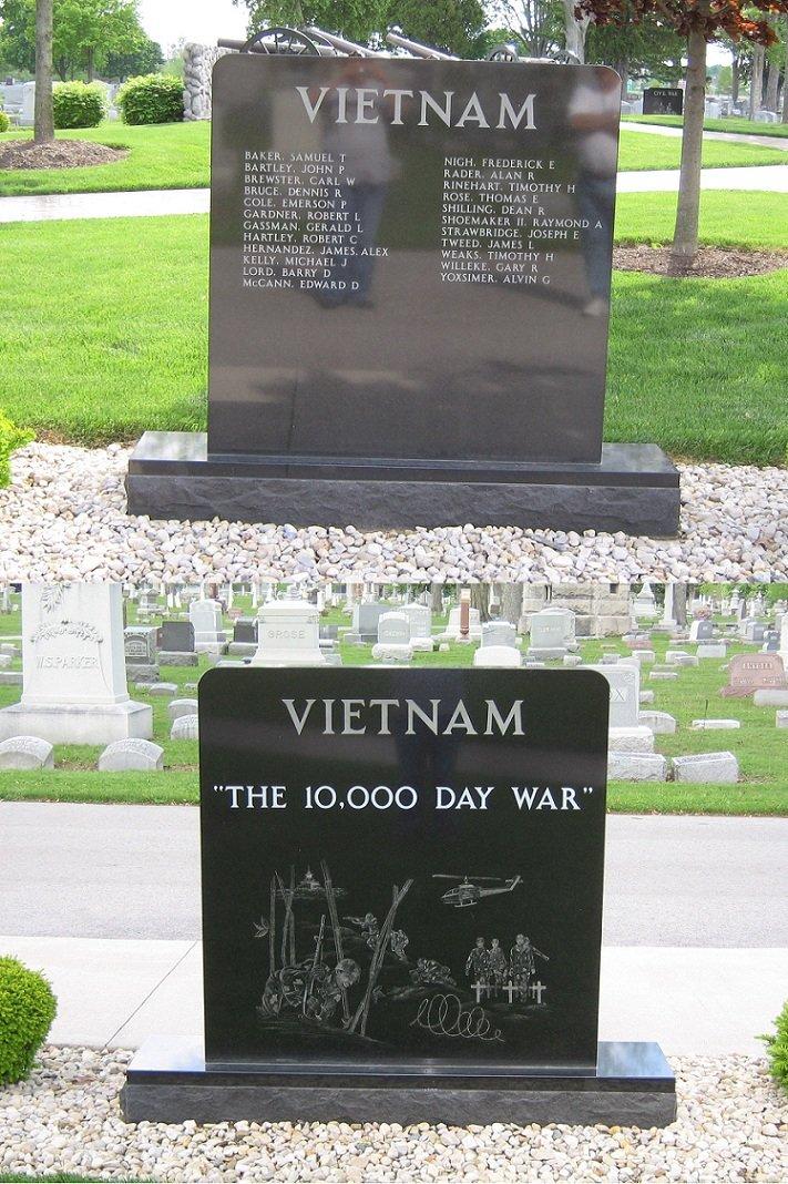 Maple Grove Cemetery Vietnam Veterans Memorial, Findlay, OH