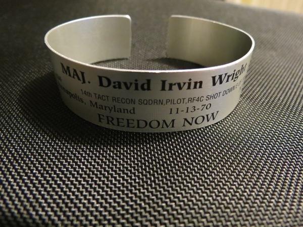 POW*MIA bracelet