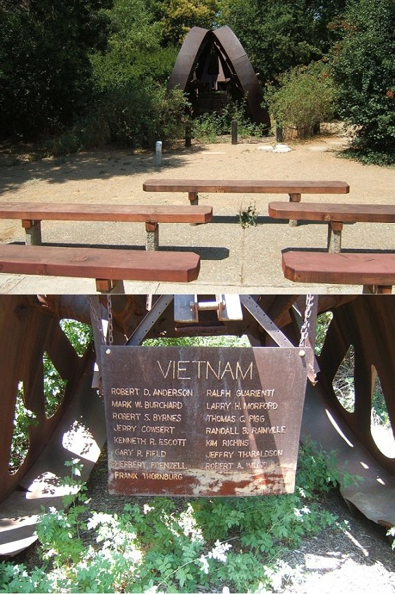 La Sierra High School Vietnam Veterans Memorial, Carmichael, CA