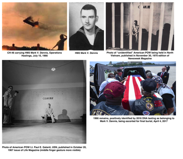 Mark V Dennis and his noble family: victims of war and of bad media