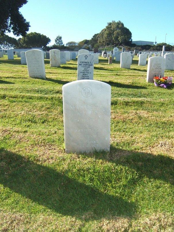 CPL Manuel C. Neves' gravesite
