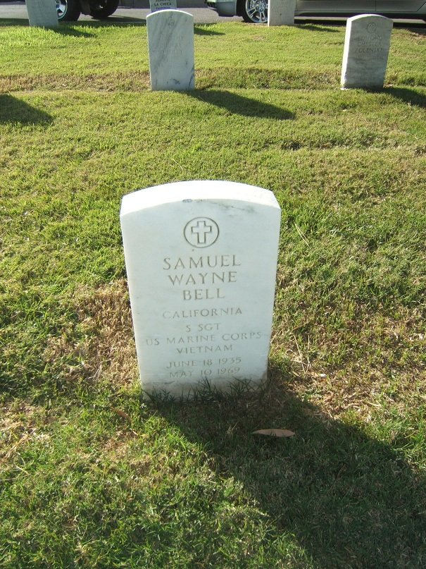 SSGT Samuel W. Bell's gravesite