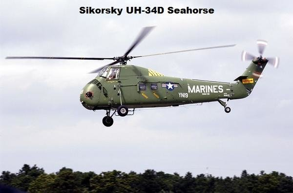 Final Mission of U.S. Marine Corps helicopter UH-34D tail number 149351