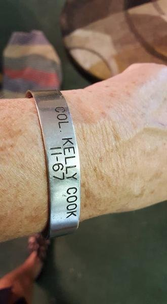 I Still Have my POW Bracelet With Col Kelly Cook